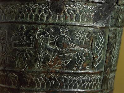 Etruscan Civilization, Bronze Arnoaldi Situla--Giclee Print