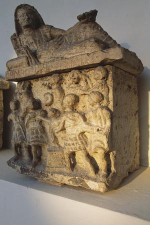 Etruscan Funerary Urn, 2nd Century Bc, Umbria, Italy