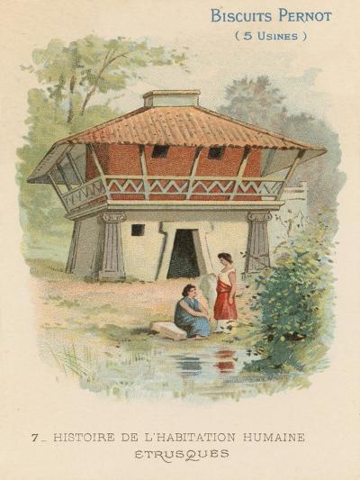 Etruscan House--Giclee Print