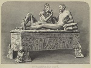 Etruscan Sarcophagus, Castellani Collection