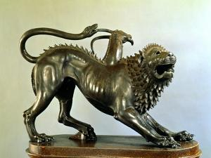 The Wounded Chimera of Bellerophon by Etruscan