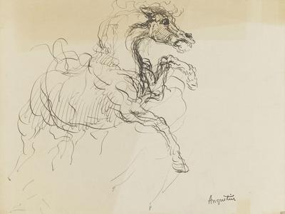 Etude de cheval-Louis Anquetin-Giclee Print