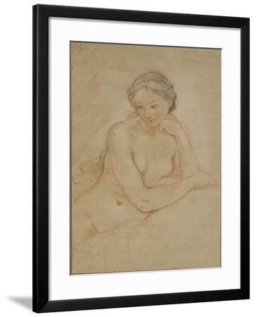 Etude de femme nue-Charles Joseph Natoire-Framed Giclee Print