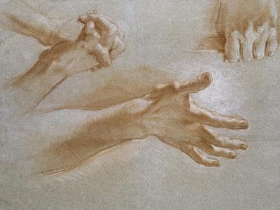 Etude de mains--Giclee Print