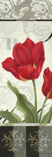 Etude en Rouge Panel II-Pamela Gladding-Art Print