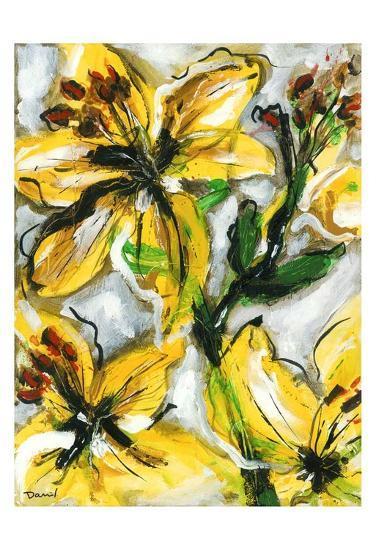 Étude Fleurs I-Pierre David-Art Print
