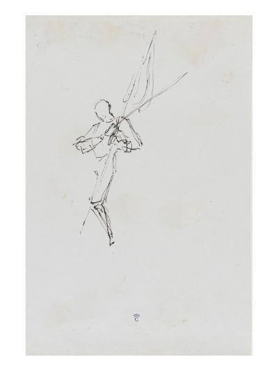 """Etude pour le """"Baptême du Prince impérial""""-Thomas Couture-Giclee Print"""