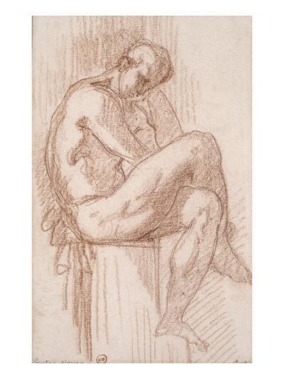 Etude pour les filles de Thespius (Hercule)-Gustave Moreau-Giclee Print