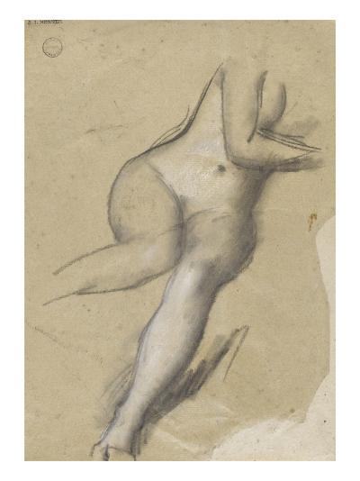 Etude pour Les Na�es-Jean Henner-Giclee Print