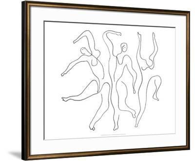 Etude pour Mercure, c.1924-Pablo Picasso-Framed Serigraph