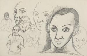 Etudes pour autoportraits