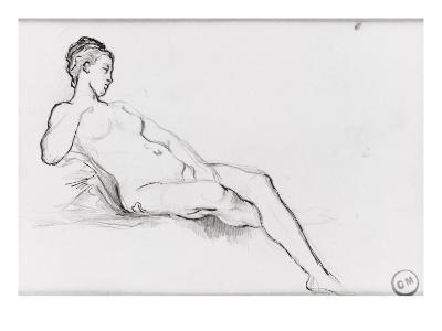 Etudes pour Vénus apparaissant aux premiers hommes-Gustave Moreau-Giclee Print