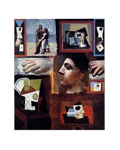 Etudes-Pablo Picasso-Art Print