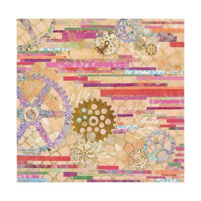 EU Timetable II-Kathy Ferguson-Art Print