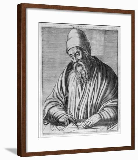 Euclid Mathematician of Alexandria-Andre Thevet-Framed Giclee Print