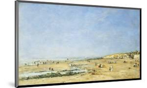 Trouville, General View of the Beach by Eug?ne Boudin