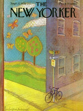 The New Yorker Cover - September 27, 1976 by Eug?ne Mihaesco