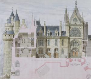 Pierrefonds by Eug?ne Viollet-le-Duc