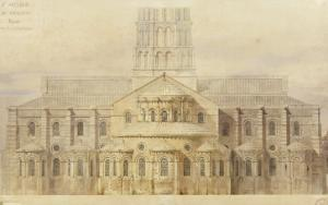Saint-Sernin de Toulouse chevet restauré by Eug?ne Viollet-le-Duc