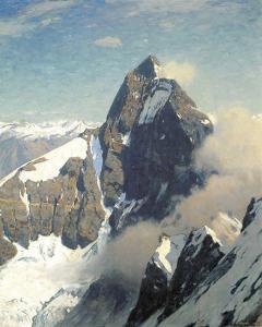 Matterhorn from West by Eugen Bracht