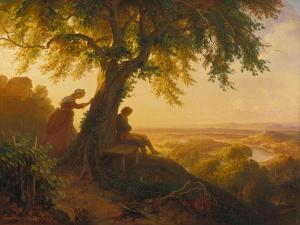 From Goethe's Hermann Und Dorothea, 1864 by Eugen Napolean Neureuther
