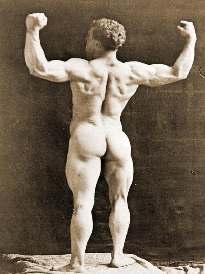 Eugen Sandow, in Classical Ancient Greco-Roman Pose, C.1897--Photographic Print