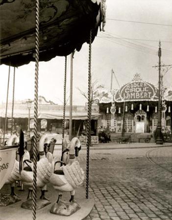 Carrousel, Paris, 1923 by Eugene Atget