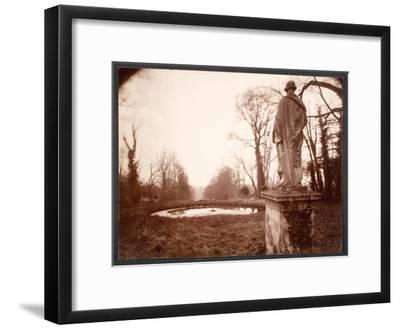 """March, 8am, from the Series """"Parc de Sceaux"""", 1925"""
