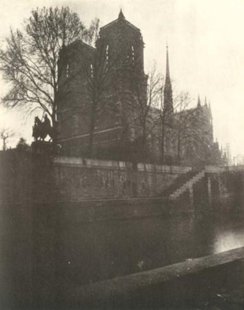 Notre-Dame Cathedral, Paris, 1920