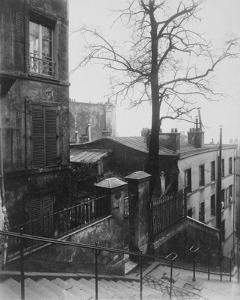 Paris, 1921 - Staircase, Montmartre by Eugene Atget