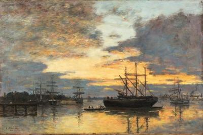 Bordeaux, in the Harbor, 1880
