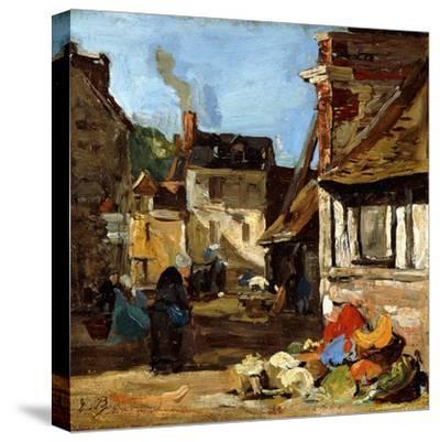 Honfleur, Saint-Catherine Market Place, 1867-1870
