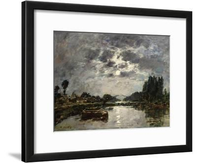 Moonlight, Canal De St. Valery, 1891