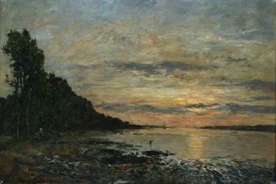 Plougastel, Sunset over the Estuary, C.1870-73