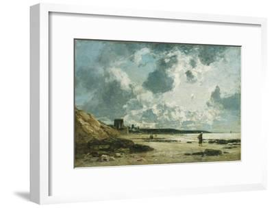 Trouville, the Black Rocks, C.1860-1865