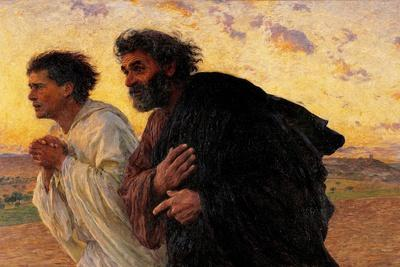Peter and John Running at the Sepulchre on the Morning of the Resurrection