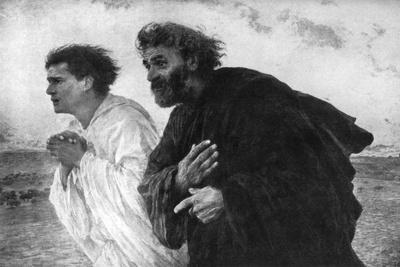 The Apostles Peter and John on the Morning of the Resurrection, 1926