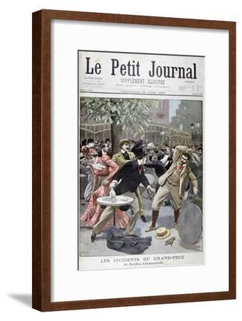 Incident at the Grand-Prix, Pavillion D'Armenonville, France, 1899