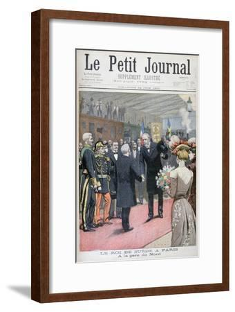 The Visit of the King of Sweden to Paris, 1900