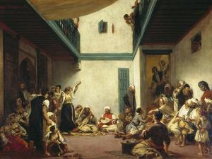 A Jewish Wedding in Morocco, C. 1841 by Eugene Delacroix