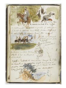 Album d'Afrique du Nord et d'Espagne by Eugene Delacroix