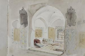 Album du voyage en Afrique du Nord by Eugene Delacroix