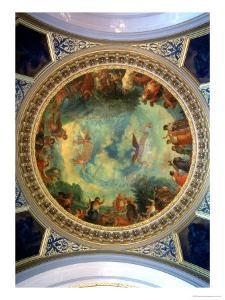 Aurora, Ceiling Painting Possibly from the Library, circa 1845-47 by Eugene Delacroix