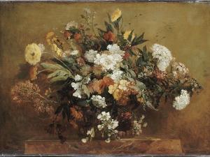 Bouquet by Eugene Delacroix