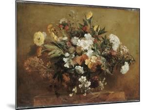 Bouquet by Eugene Delacroix
