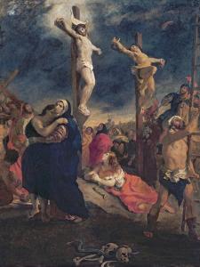 Christ on the Cross, 1835 by Eugene Delacroix
