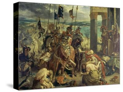 Crusaders Entering Constantinople on April 12th, 1204, 1840