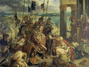 Crusaders Entering Constantinople on April 12th, 1204, 1840 by Eugene Delacroix