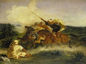 Fantaisie Arabe, 1833 by Eugene Delacroix
