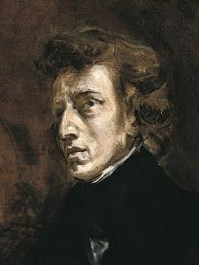 Frédéric Chopin by Eugene Delacroix
